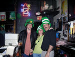Our Fearless leader Les, with Lonnette, & Richard St. Patty's Day '07